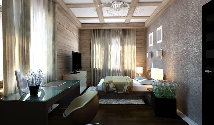 Private House: styl , w kategorii Sypialnia zaprojektowany przez Shtantke Interior Design