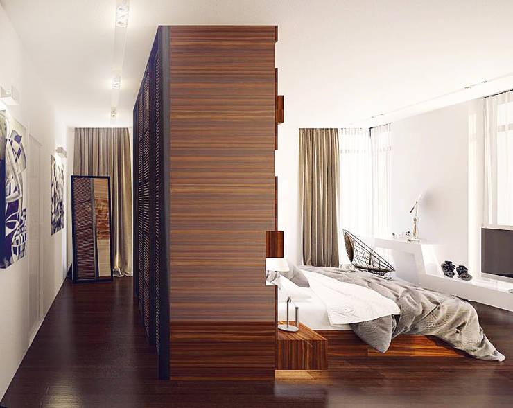 Private house: styl , w kategorii Sypialnia zaprojektowany przez Shtantke Interior Design,Nowoczesny