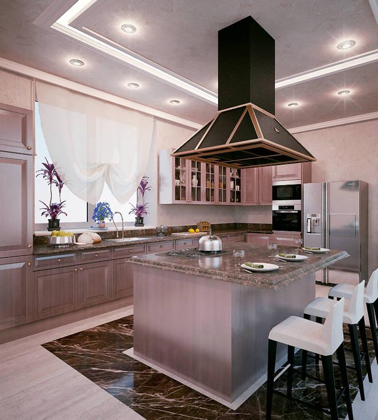 Shtantke Interior Design:  tarz Mutfak