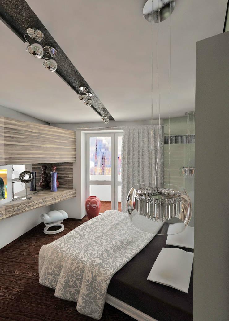 дизайн интерьера : Спальни в . Автор – Частный архитектор, девелопер, просто хороший человек.
