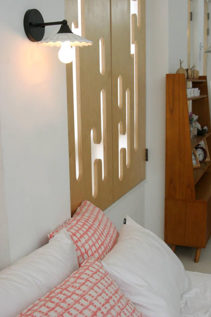 벨라스완 벽등: 까사라이트의  침실