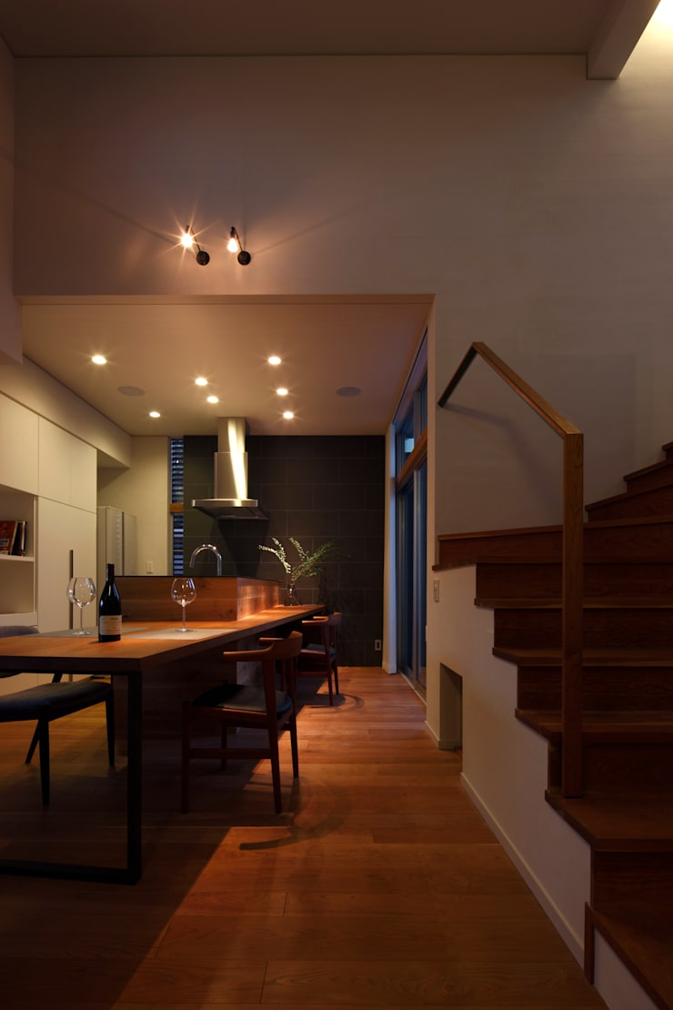 巣づくりの家 : 道家秀男建築設計事務所が手掛けたダイニングです。