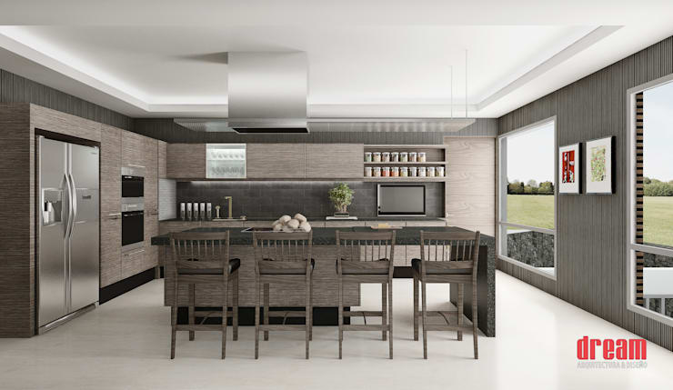 Kitchen by Estudio Meraki