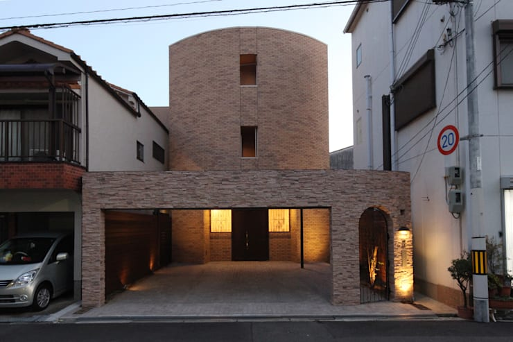 夕景: atelier mが手掛けた家です。,