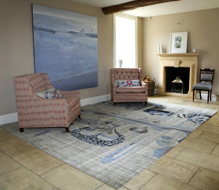 The Rug Studio:  tarz Oturma Odası