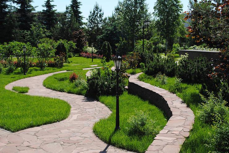 Engelse Landschapsstijl Tuin : Engelse tuinlandschappen