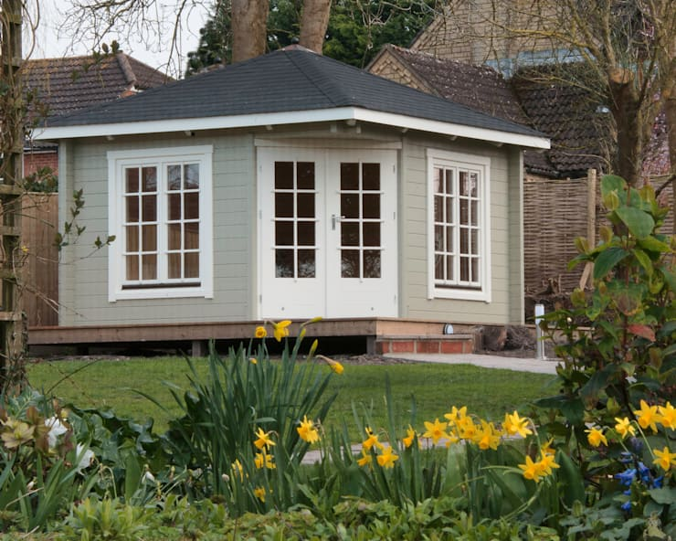 Garden Room : classic Garden by Garden Affairs Ltd