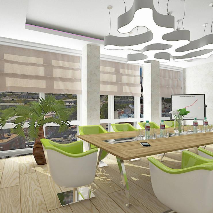 Концепция офиса IT компании: Рабочие кабинеты в . Автор – Design Rules