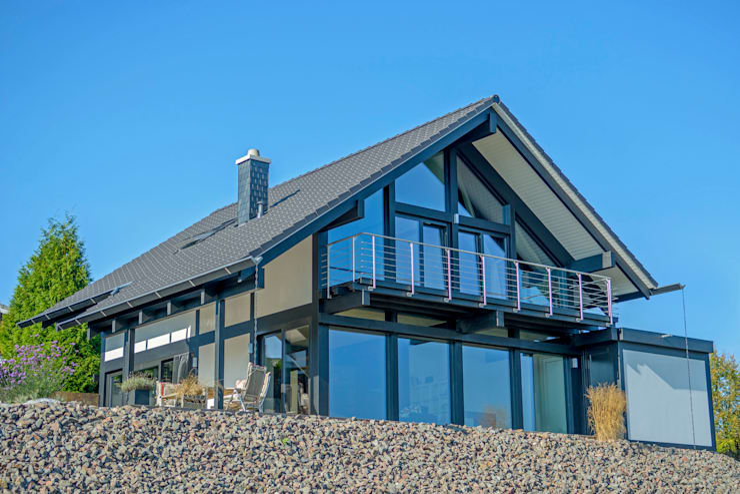 """KD-Haus 130 Das """"Haus am See"""" : moderne Häuser von KD-Haus GmbH"""