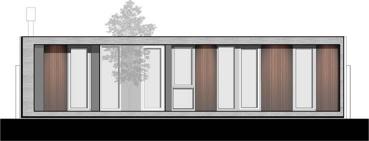 Atelier Gael: Casas de estilo  por Estudio Moirë arqs.,Moderno