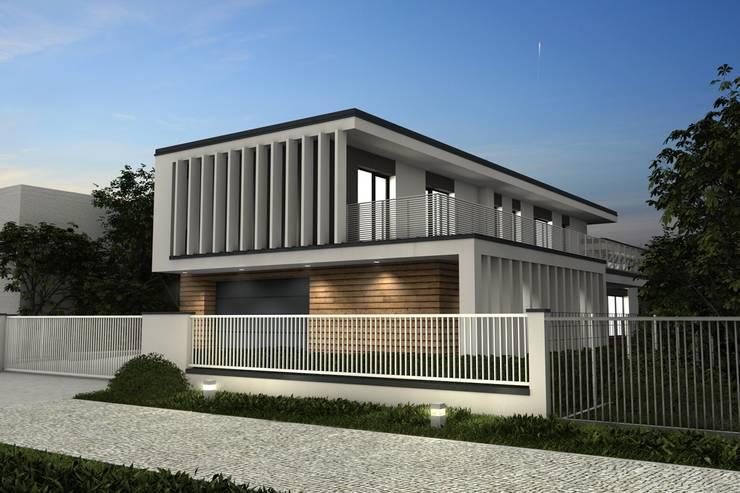 Maisons de style  par Offa Studio, Moderne Bois Effet bois