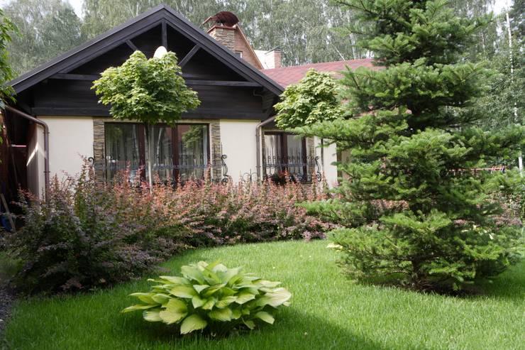 Баня в английском стиле: Дома в . Автор – RRdesign