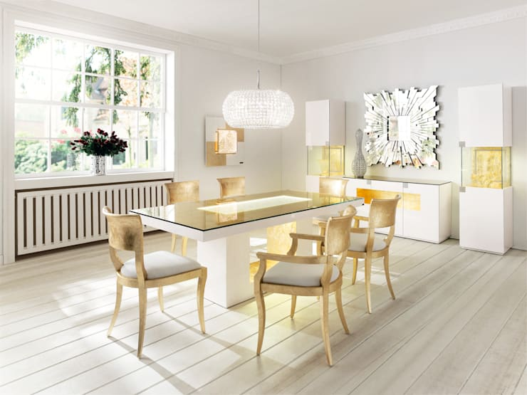Dining room by Finkeldei Polstermöbel GmbH