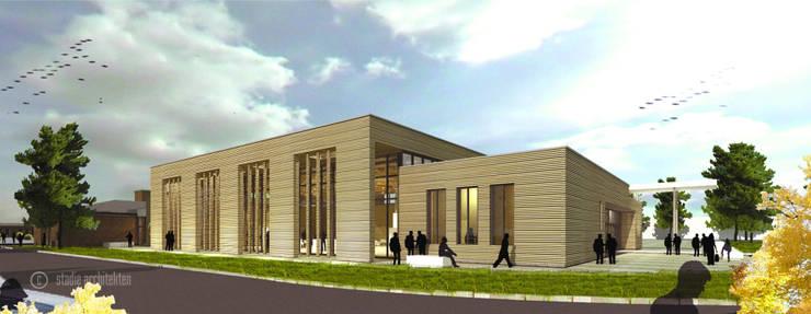 Stadie + Stadie Architekten:  tarz Ofis Alanları