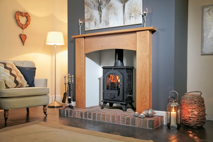 Living room by Fiveways Fires & Stoves