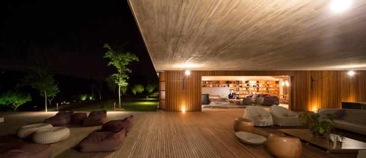 Projekty,  Taras zaprojektowane przez Studio MK27