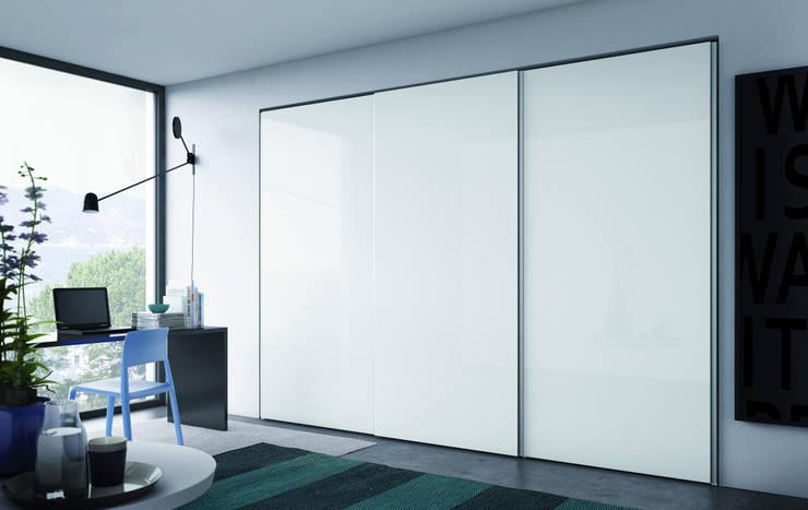 Projekty,  Sypialnia zaprojektowane przez PIANCA
