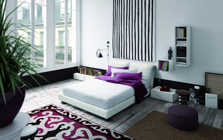 Dormitorios de estilo  por PIANCA