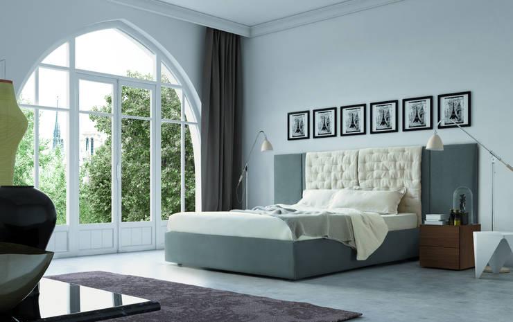 Boiserie Spazio e People tatami sommier: Camera da letto in stile  di PIANCA