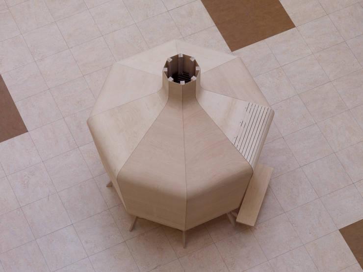 La Capsule Ventilée:  de style  par ATELIER JES