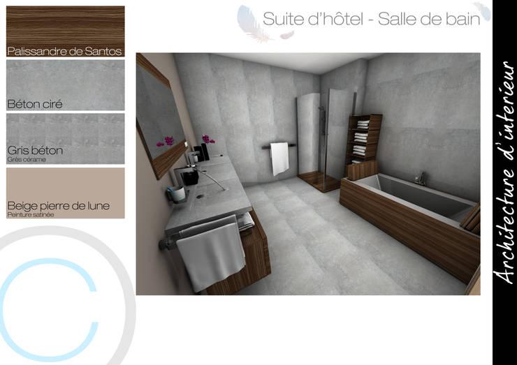 Architecture d\'intérieur - Chambre d\'hôtel von Crhome Design | homify