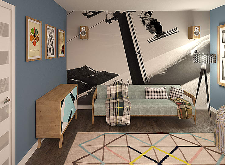 Дом: Детские комнаты в . Автор – Chloe Design & Decor/Anastasia Baskakova,