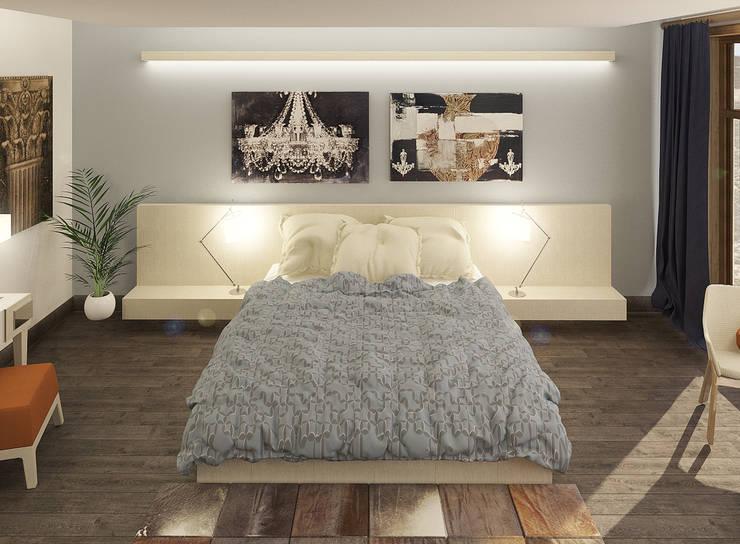 Дом: Спальни в . Автор – Chloe Design & Decor/Anastasia Baskakova,