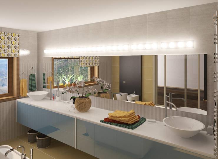 Дом: Ванные комнаты в . Автор – Chloe Design & Decor/Anastasia Baskakova,