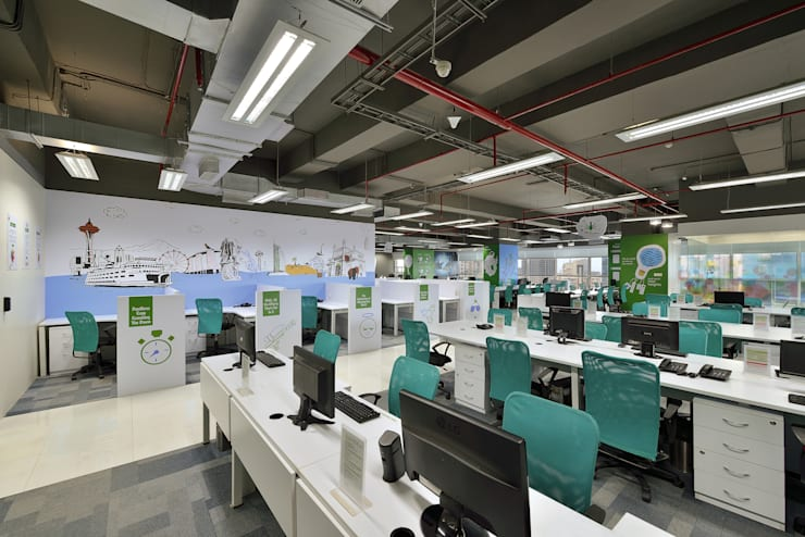 Resultrix Media:  Office buildings by Ar. Milind Pai