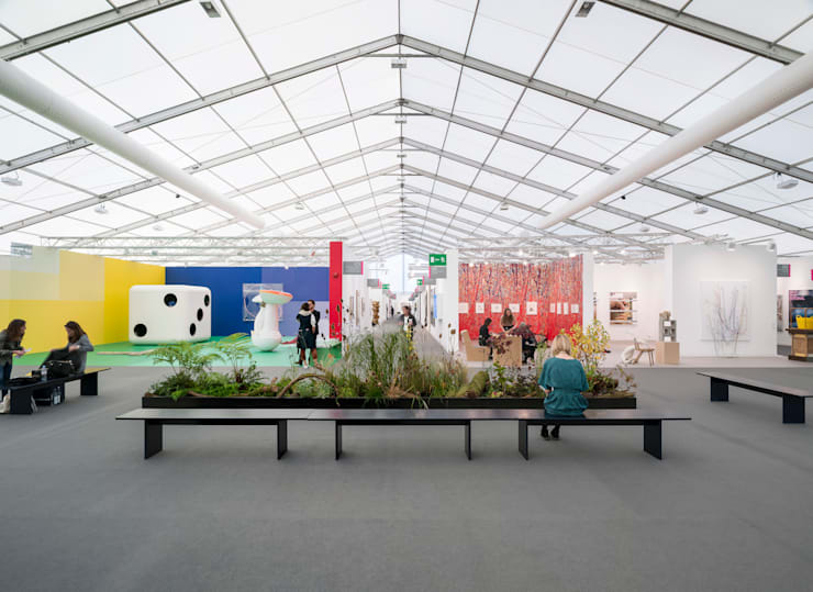 Exhibition centres by Universal Design Studio