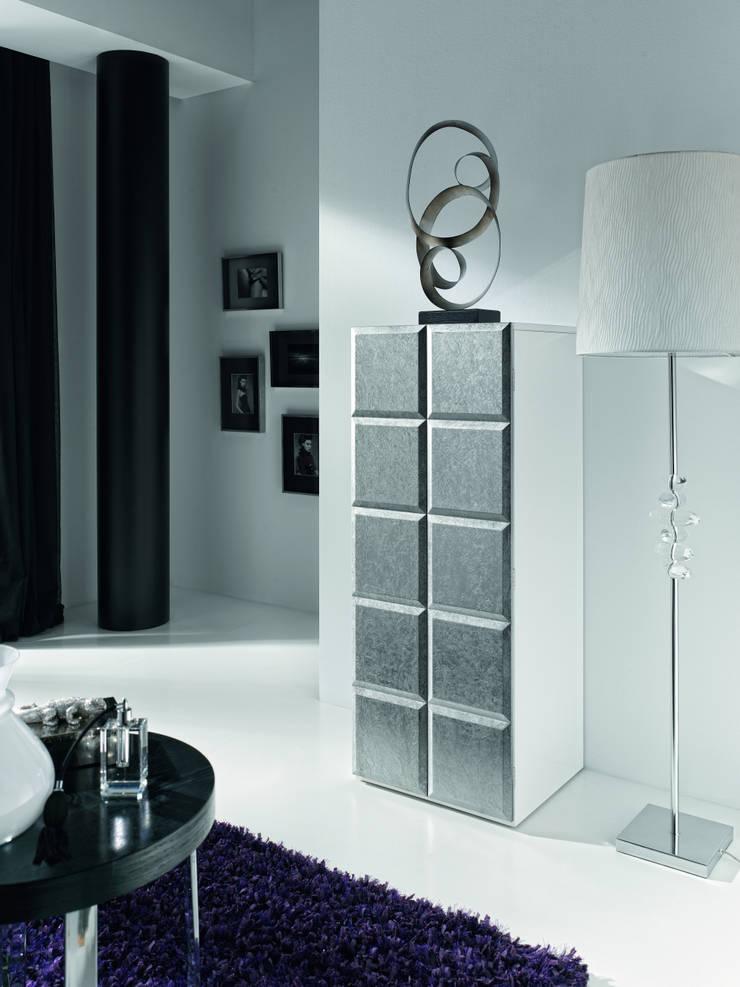 Dormitorio Natassia: Dormitorios de estilo  de Cubilles Lógica