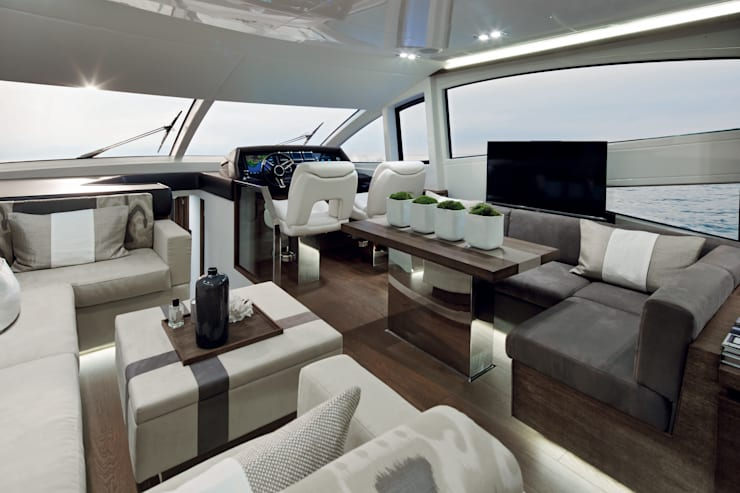 Living room:  Yachts & jets by Kelly Hoppen