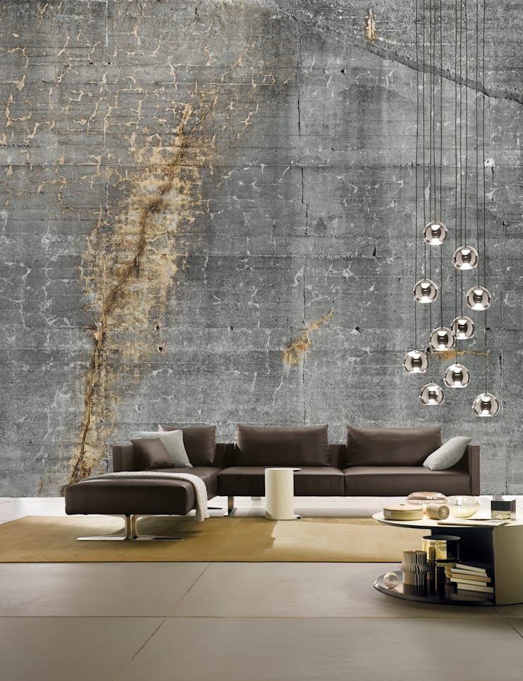 Kate Sofa:  Living room by Resource Furniture