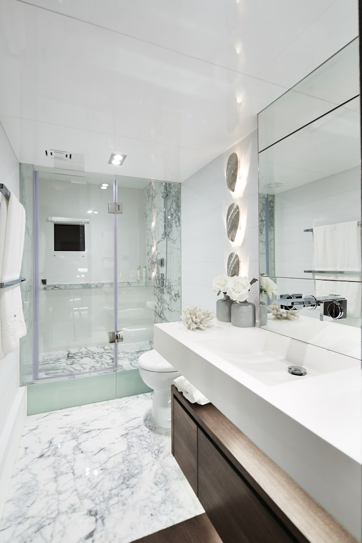 Bathroom 1:  Yachts & jets by Kelly Hoppen