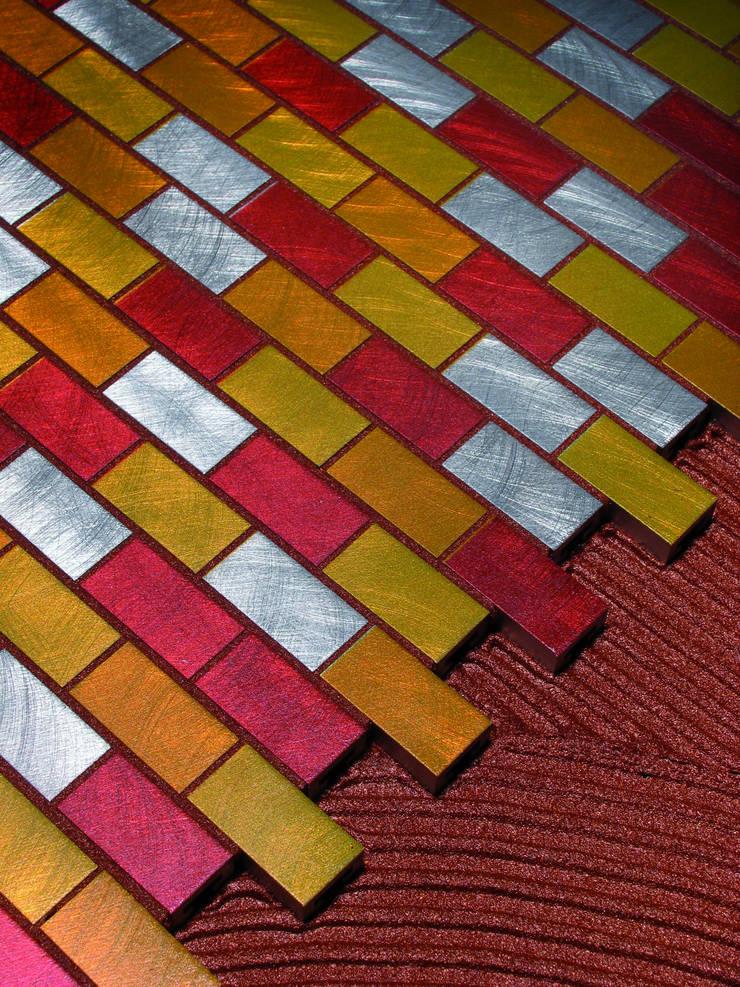 Starlike voegwerk Metallic Rusty:  Badkamer door Keramix