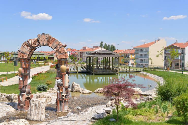 Eskişehir Tepebaşı Belediyesi – Eskişehir Tepebaşı Belediyesi Toprak Dede Hayrettin Karaca Parkı:  tarz Bahçe, Modern