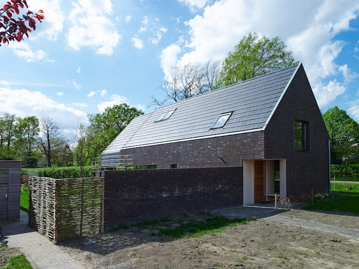 Projekty,  Domy zaprojektowane przez Thomas Kemme Architecten