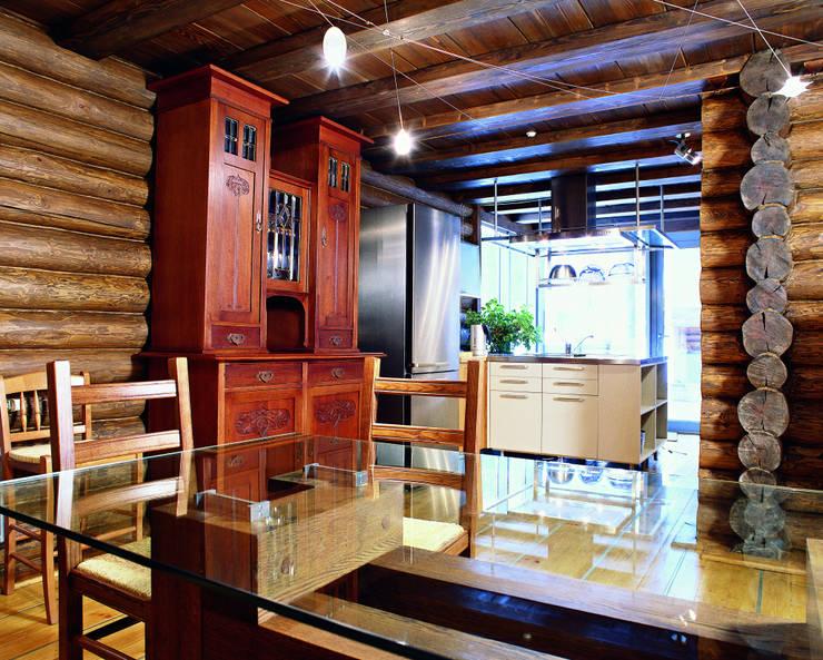 Баня в подмосковье: Кухни в . Автор – ARP Studio