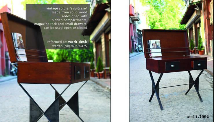Reformist Project – Work Desk No: 14.7002: eklektik tarz tarz Çalışma Odası