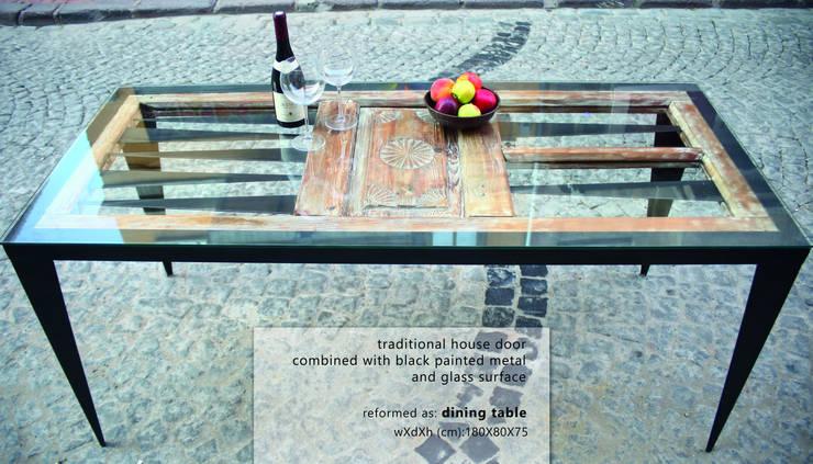 Reformist Project – Yemek Masası No:14.7003:  tarz Yemek Odası