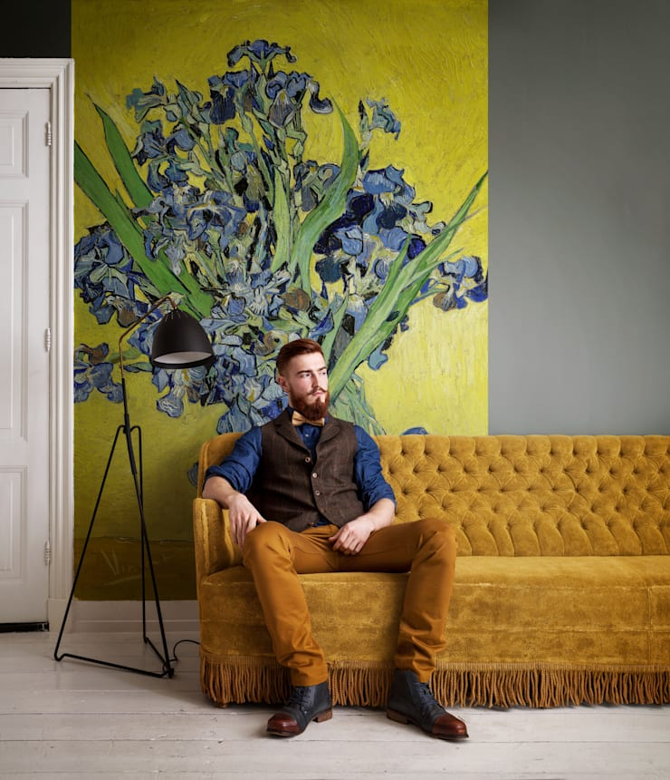 Van Gogh:  Walls & flooring by Tektura Wallcoverings