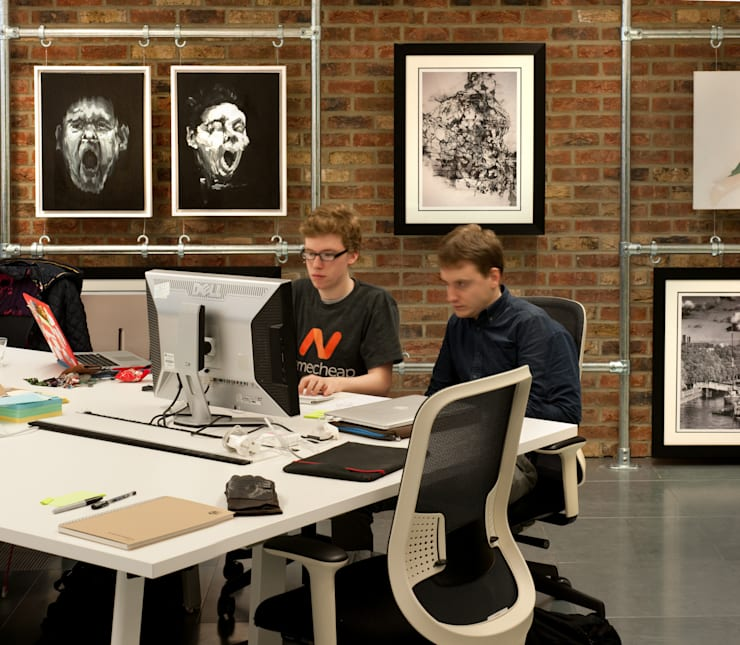 Working at ThoughtWorks:  Office buildings by Morgan Lovell