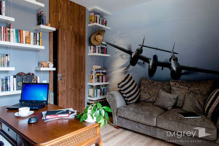 Ruang Kerja by TiM Grey Interior Design