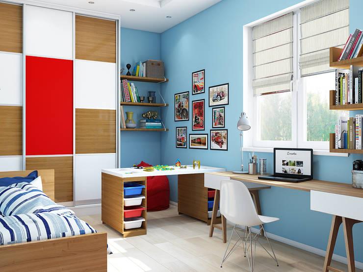 Классический интерьер с элементами ориентал и красивыми десткими: Детские комнаты в . Автор – Tatiana Zaitseva Design Studio, Модерн