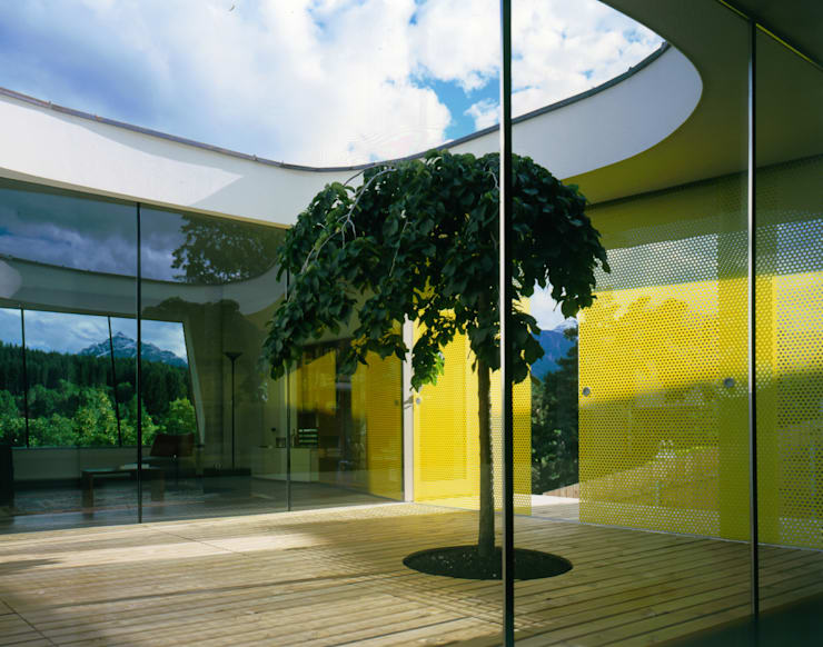 Haus F:  Terrasse von Architekt Daniel Fügenschuh ZT GMBH