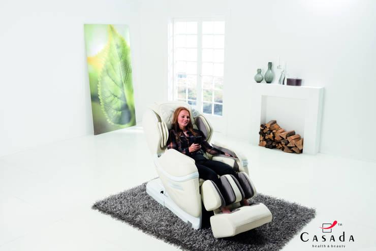 Sillón de masaje Casada, SKYLINER A300: Hogar de estilo  de Casada Health & Beauty
