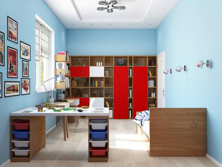 Классический интерьер с элементами ориентал и красивыми десткими: Детские комнаты в . Автор – Tatiana Zaitseva Design Studio