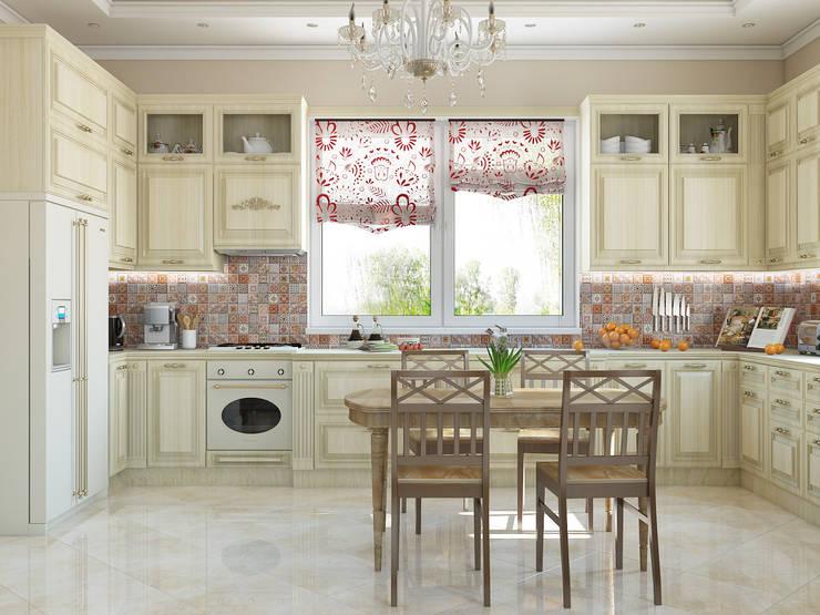 Tatiana Zaitseva Design Studioが手掛けたキッチン