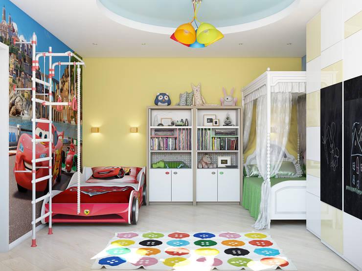 Tatiana Zaitseva Design Studio:  tarz Çocuk Odası