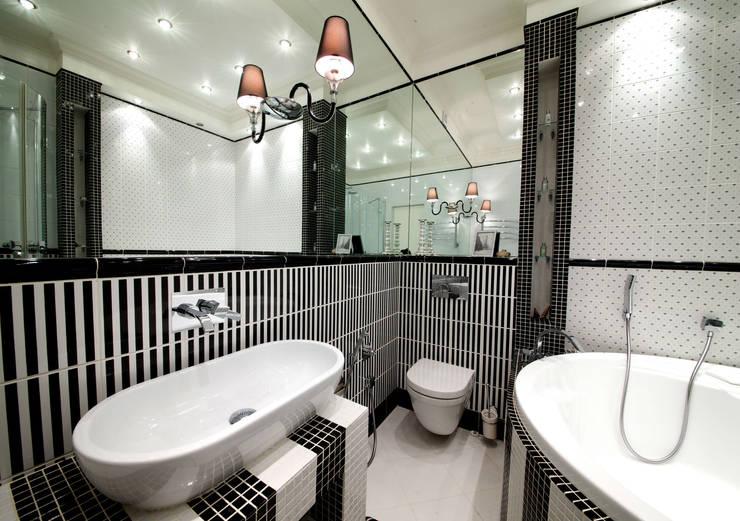Baños de estilo clásico por Дизайн-студия «ARTof3L»